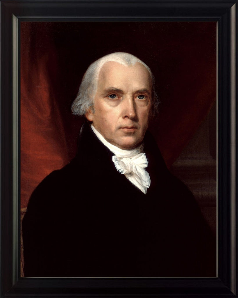 President James Madison 8x10 Framed Photo