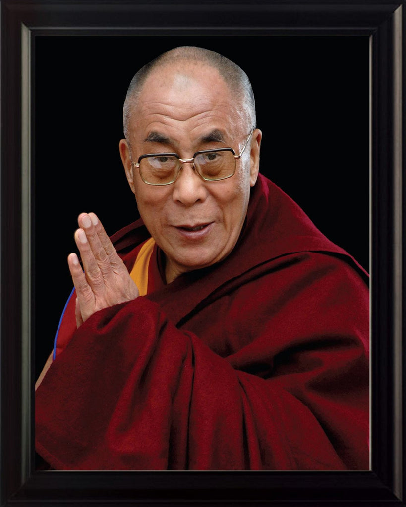 Dalai Lama 8x10 Framed Photo