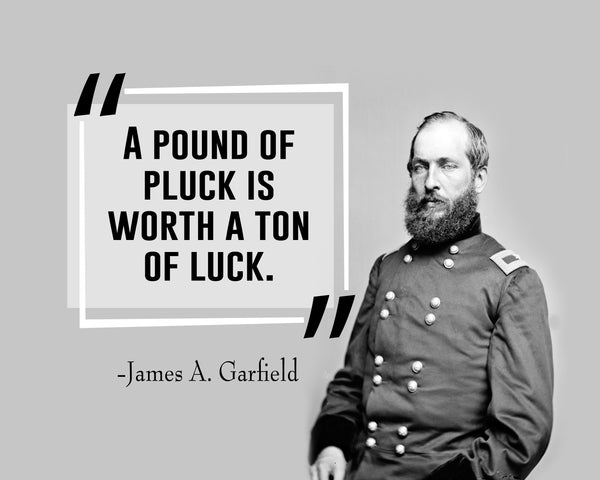 James A. Garfield A Pound Of Poster, Print, Picture or Framed Photograph