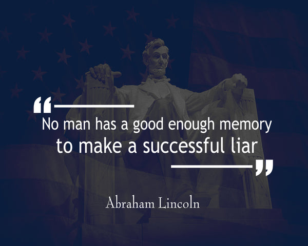 Abraham Lincoln No Man Has Poster, Print, Picture or Framed Photograph