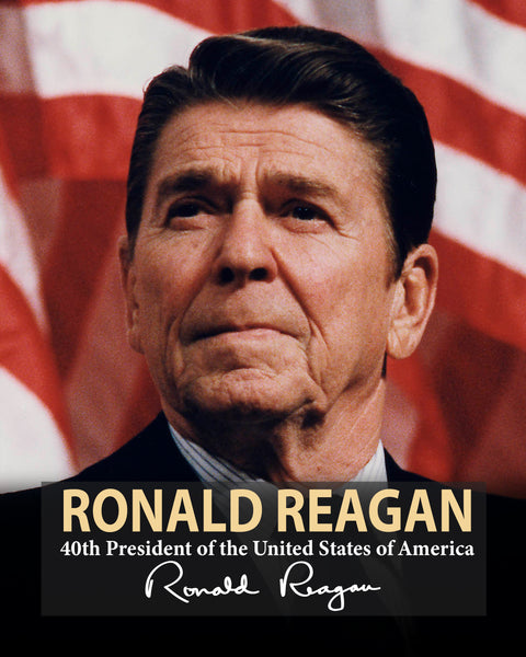 Ronald Reagan 40th President Poster, Print, Picture or Framed Photograph