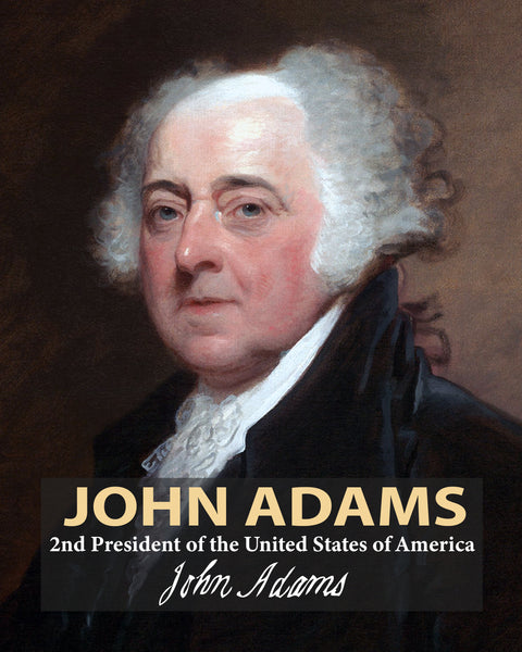 John Adams 2nd President Poster, Print, Picture or Framed Photograph