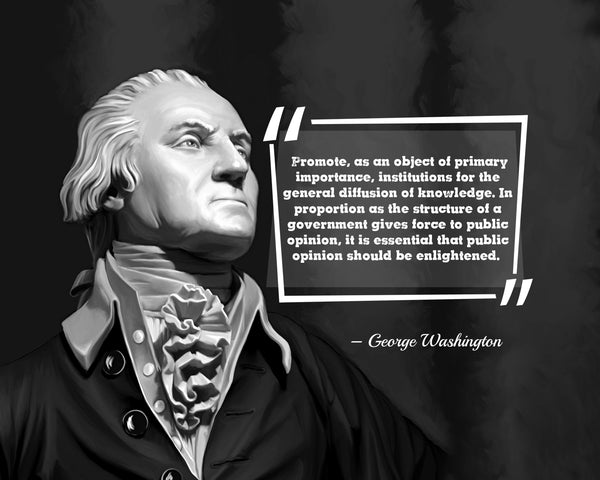George Washington Promote As An Poster, Print, Picture or Framed Photograph