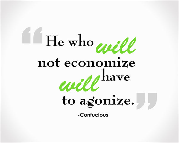 Confucius He Who Will Poster, Print, Picture or Framed Photograph