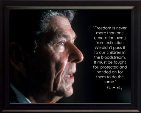 Ronald Reagan | Photo, Picture, Poster or Framed | Famous Quotes