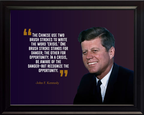 John F. Kennedy The Chinese Use Poster, Print, Picture or Framed Photograph
