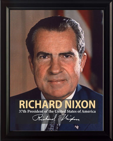 Richard Nixon 37th President Poster, Print, Picture or Framed Photograph