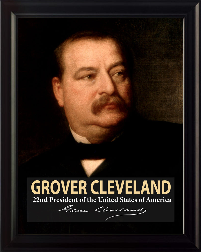 Grover Cleveland 22nd President Poster, Print, Picture or Framed Photograph