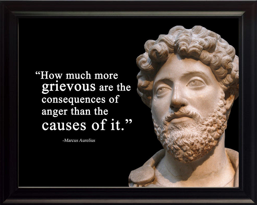 Marcus Aurelius How much more Poster, Print, Picture or Framed Photograph