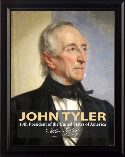 John Tyler 10th President Poster, Print, Picture or Framed Photograph