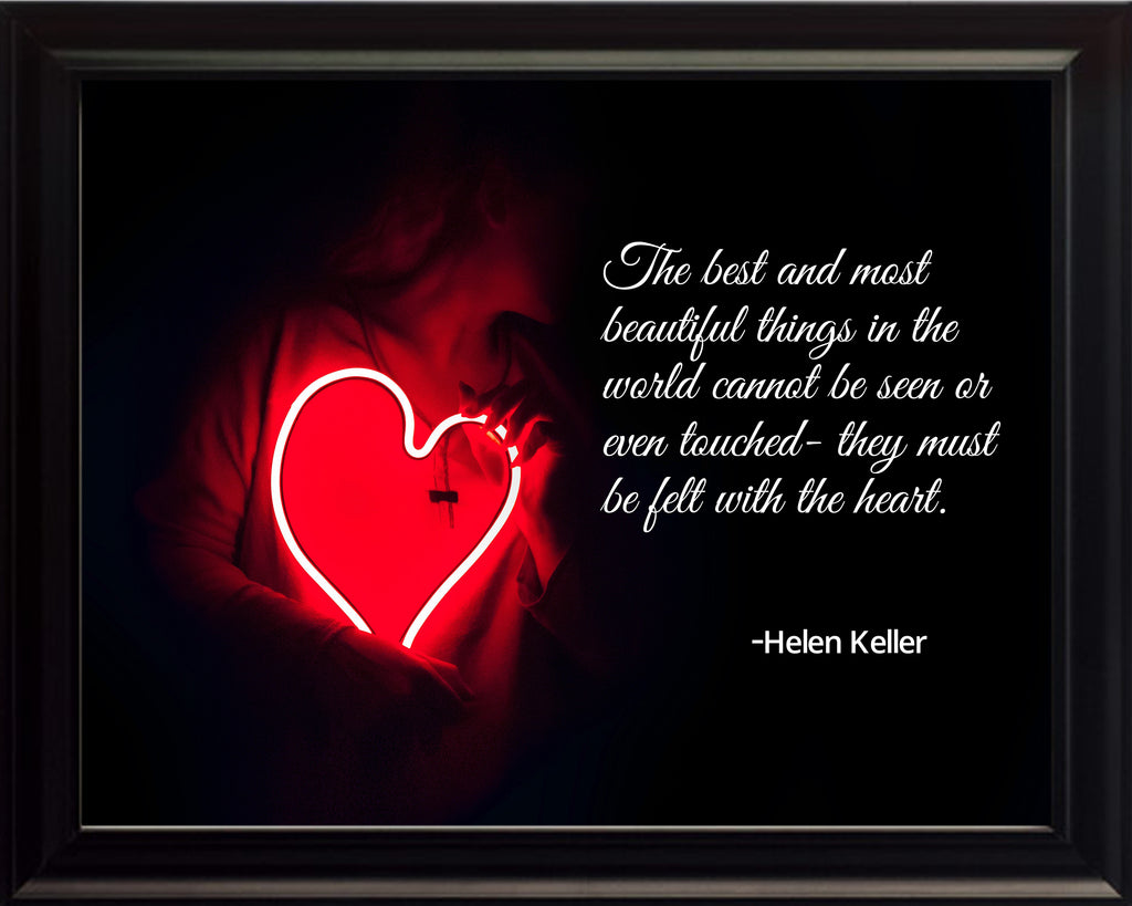 Helen Keller The Best And Poster, Print, Picture or Framed Photograph