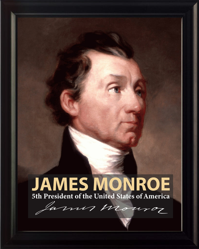 James Monroe 5th President Poster, Print, Picture or Framed Photograph