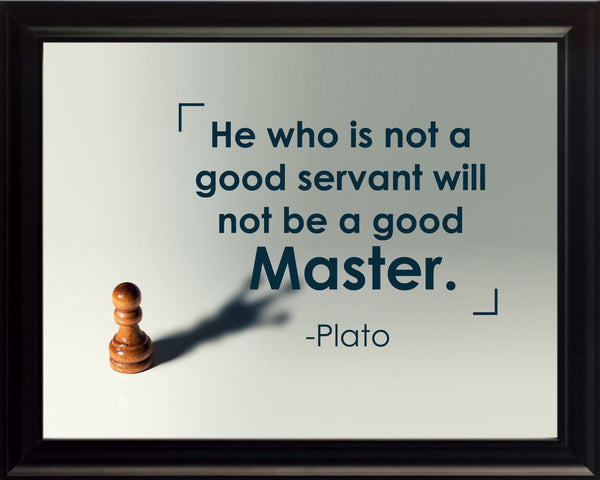 Plato He Who Is Poster, Print, Picture or Framed Photograph