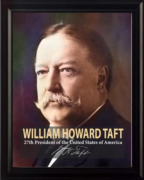 William Howard Taft 27th President Poster, Print, Picture or Framed Photograph