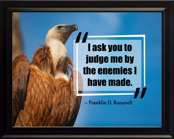 Franklin D. Roosevelt I Ask You Poster, Print, Picture or Framed Photograph