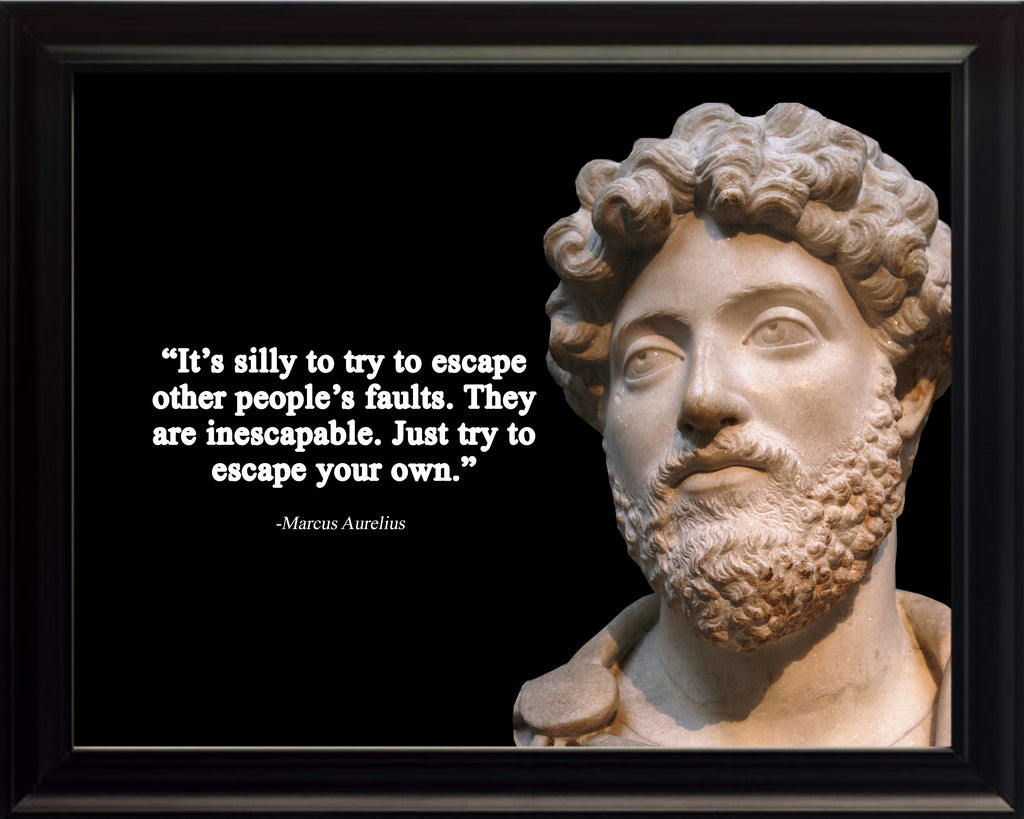 Marcus Aurelius It's silly to Poster, Print, Picture or Framed Photograph