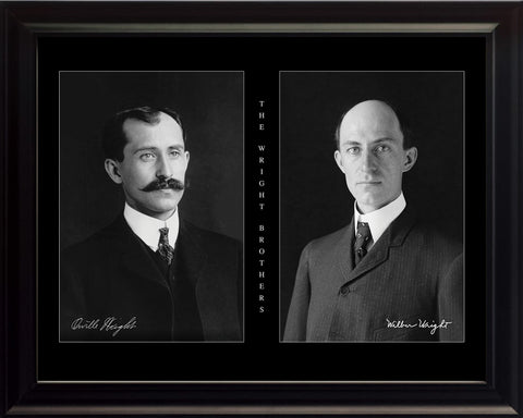 The Wright Brothers - Photo, Picture, Poster or Framed