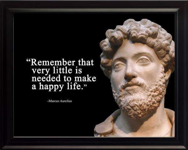 Marcus Aurelius Remember that very Poster, Print, Picture or Framed Photograph
