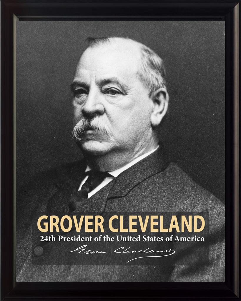 Grover Cleveland 24th President Poster, Print, Picture or Framed Photograph