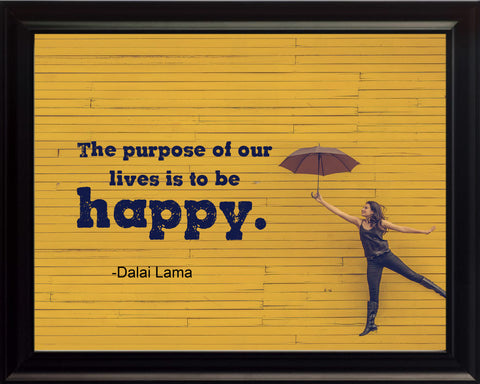 Dalai Lama The Purpose Of Poster, Print, Picture or Framed Photograph
