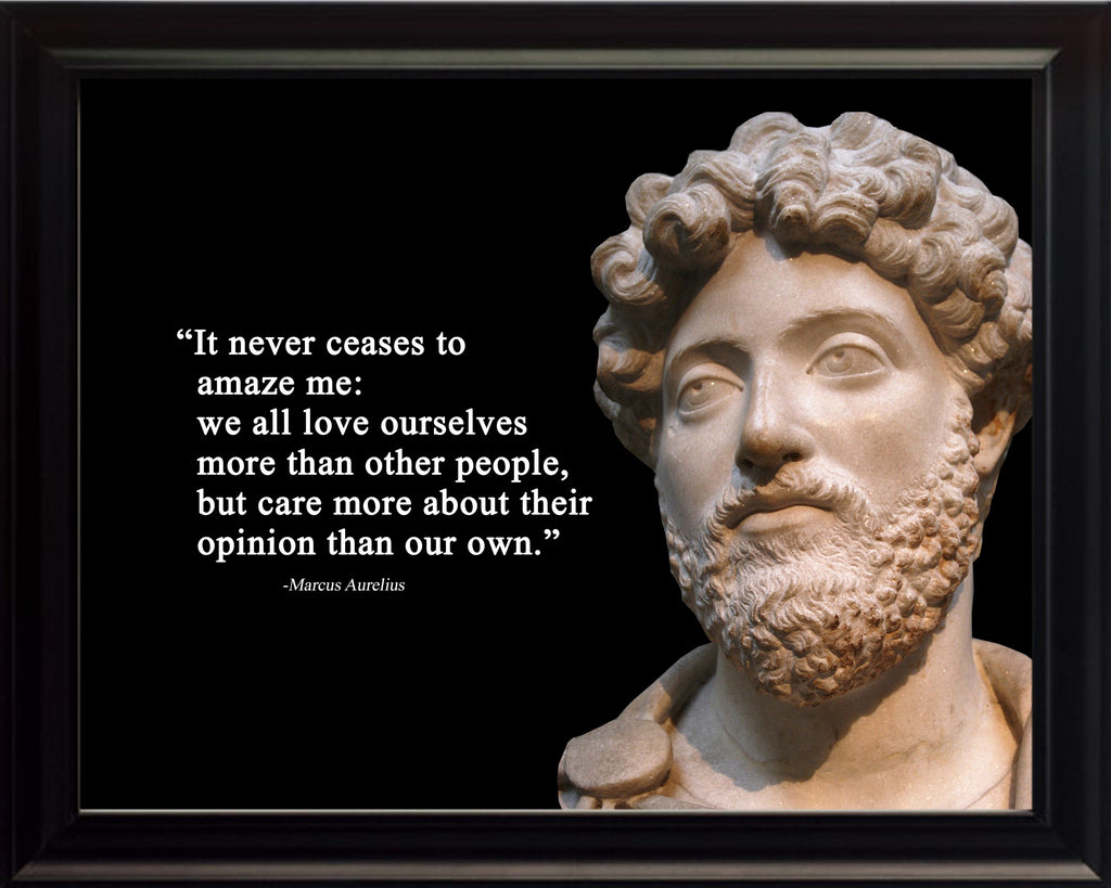 Marcus Aurelius It never ceases Poster, Print, Picture or Framed Photograph