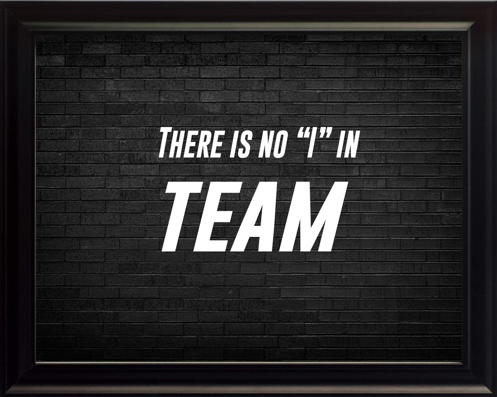 There Is No Sportsmanship Poster, Print, Picture or Framed Photograph