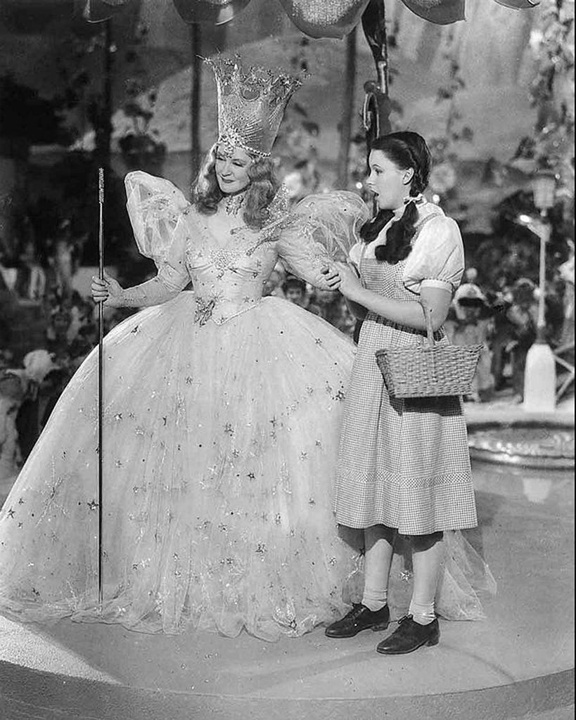 Billie Burke and Judy Garland in Wizard of Oz 8x10 Photo
