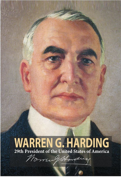 Warren G. Harding 29th President Poster, Print, Picture or Framed Photograph