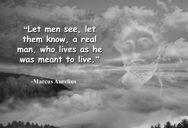 Marcus Aurelius Let men see Poster, Print, Picture or Framed Photograph