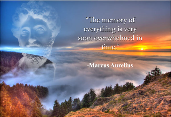 Marcus Aurelius The memory of Poster, Print, Picture or Framed Photograph