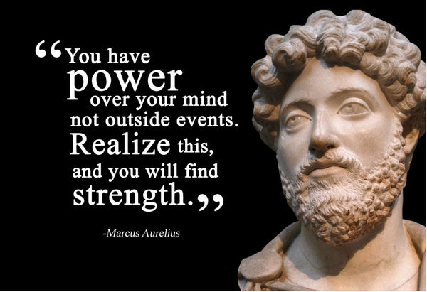 Marcus Aurelius You have power Poster, Print, Picture or Framed Photograph