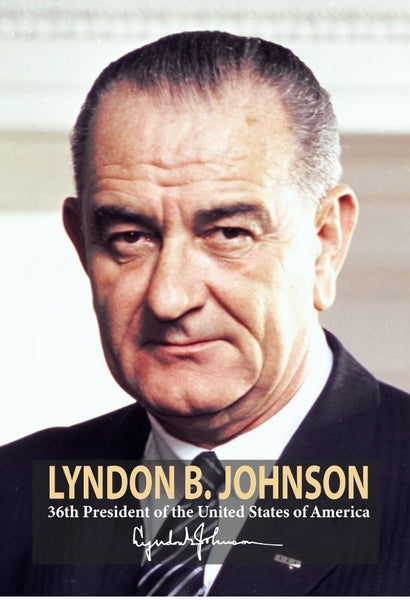 Lyndon B. Johnson 36th President Poster, Print, Picture or Framed Photograph