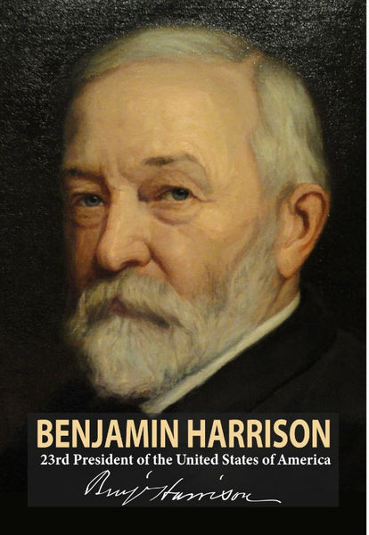 Benjamin Harrison 23rd President Poster, Print, Picture or Framed Photograph