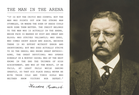 Theodore Teddy Roosevelt Poster