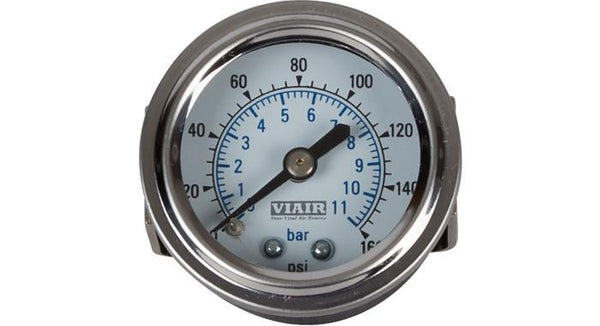 "Viair 160 PSI 1.5"" Single Needle Air Gauge"