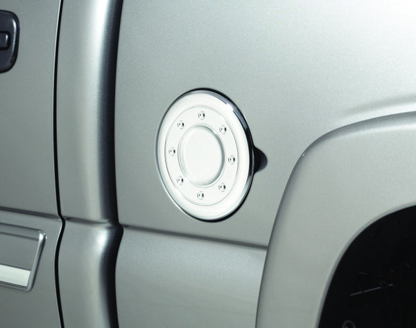 AVS 02-06 Cadillac Escalade Fuel Door Cover - Chrome