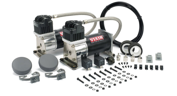 Viair 28002 Dual 280C Black & Silver Air Compressor