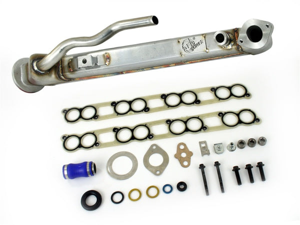 aFe EGR Cooler with Gaskets Kit 04-07 Ford Diesel Trucks V8 6.0L (td)