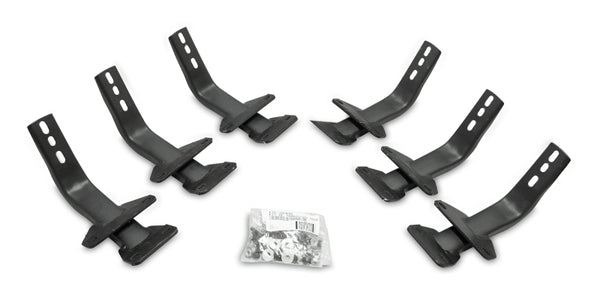Go Rhino 15-20 Ford F-150 Brackets for OE Xtreme Cab Length SideSteps