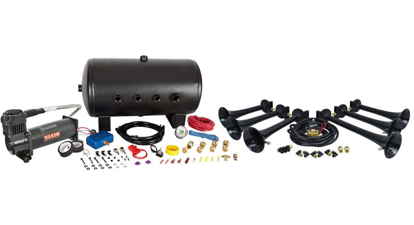 HornBlasters Shocker S6 544 Nightmare Edition Train Horn Kit