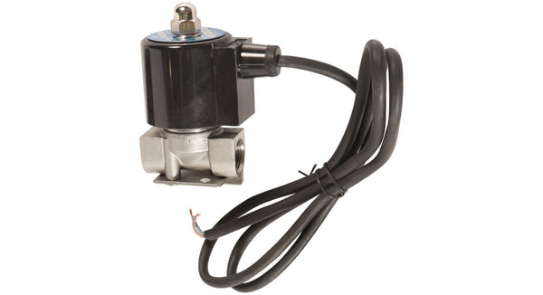 "HornBlasters Stainless Steel 3/8"" Electric Air Valve - HornBlasters"