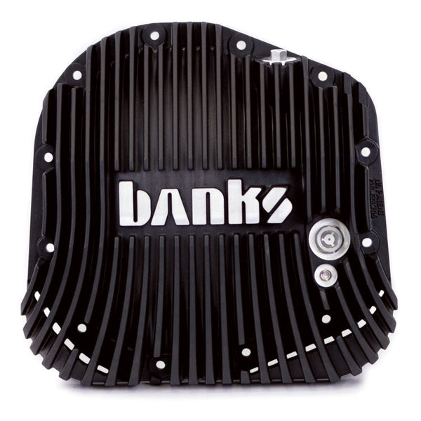 Banks 85-19 Ford F250/ F350 10.25in 12 Bolt Black-Ops Differential Cover Kit