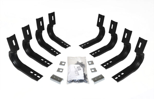 Go Rhino 07-10 GMC Sierra 1500/2500HD/3500HD Brackets for OE Xtreme Cab Length SideSteps