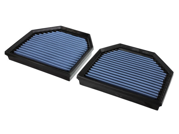 aFe MagnumFLOW OEM Replacement Air Filter PRO 5R 2015 BMW M3/M4 (F80/F82) 3.0L S55 (tt) Qty. 2