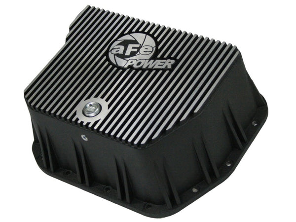 aFe Power Cover Trans Pan Machined COV Trans Pan Dodge Diesel Trucks 94-07 L6-5.9L (td) Machined