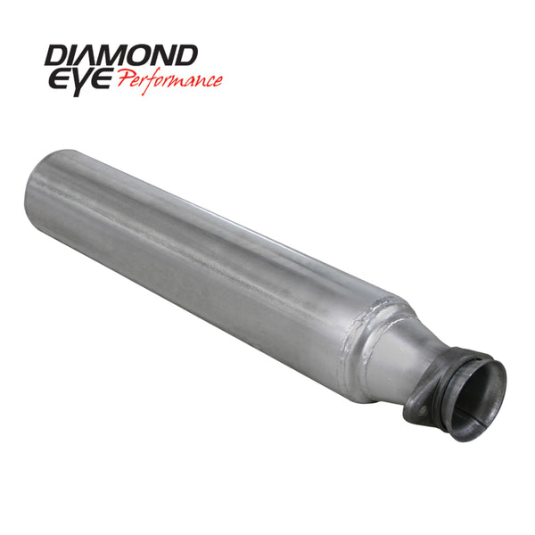 Diamond Eye STRTR PIPE 5in TB SGL 3in BALL JOINT INLET AL FORD 7.3L F250/F350 94-97