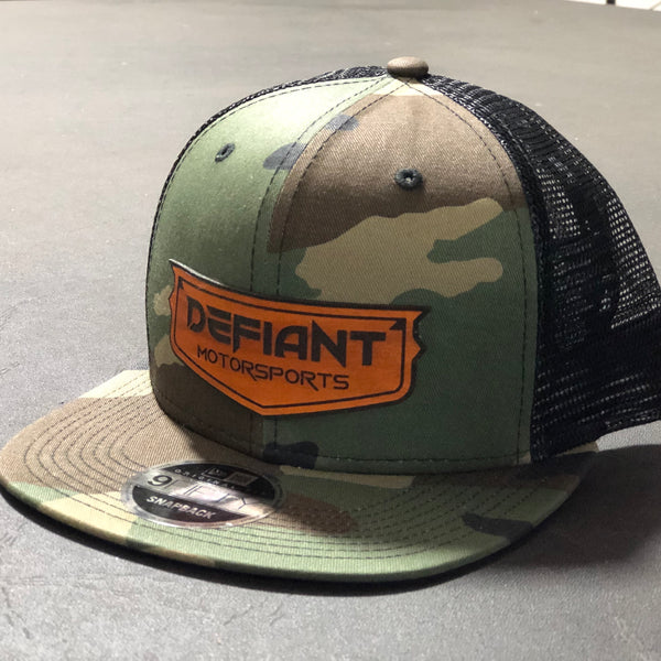 Camo/Mesh SnapBack with Patch