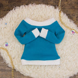 40cm - Solid Color Turquoise Shirt
