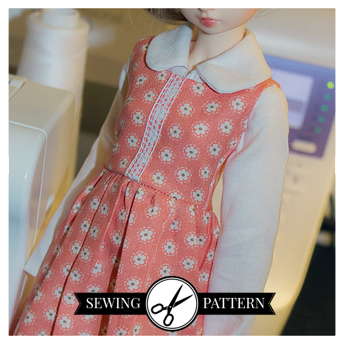 Slim MSD - Simple Dress Sewing Pattern