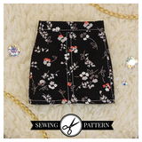 Slim MSD - Fitted Skirt Sewing Pattern